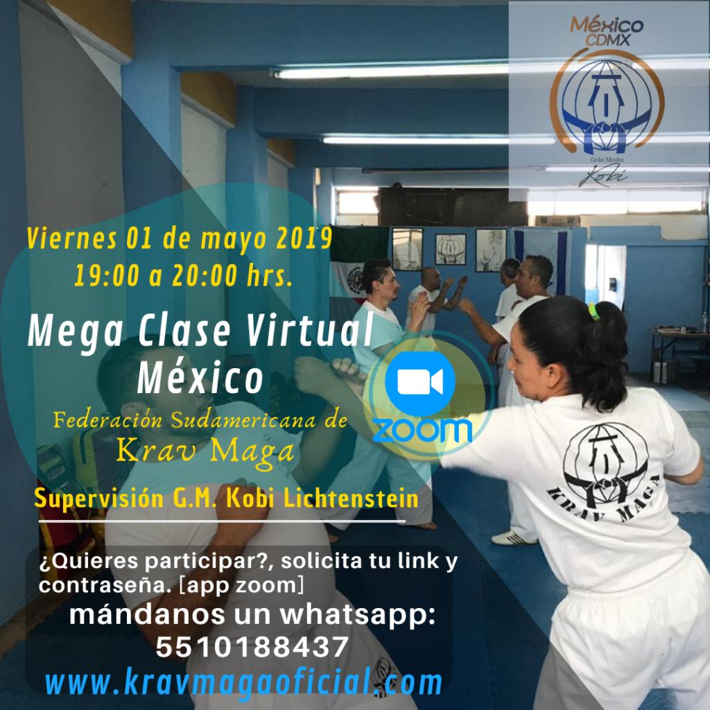 Mega Clase Virtual de Krav Maga